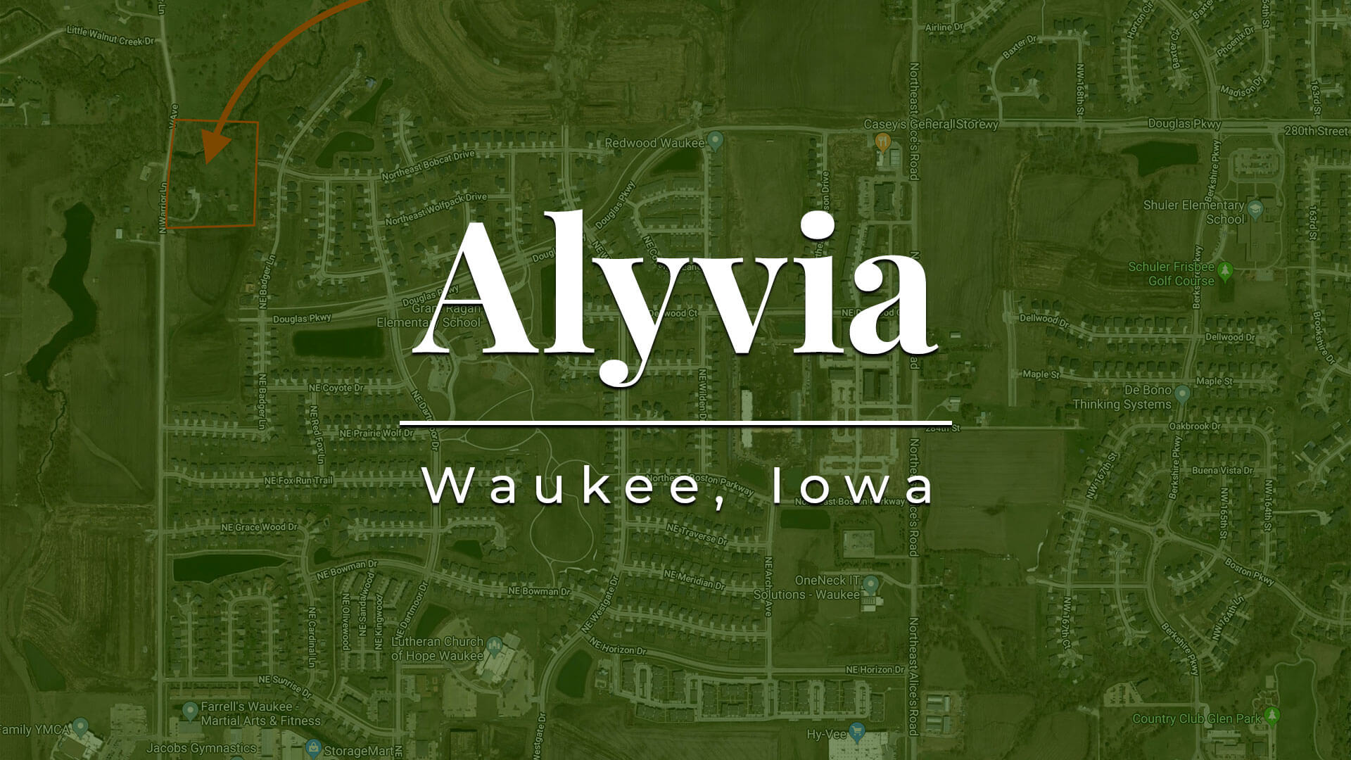 Alyvia Development Lots for Sale in Waukee, Iowa
