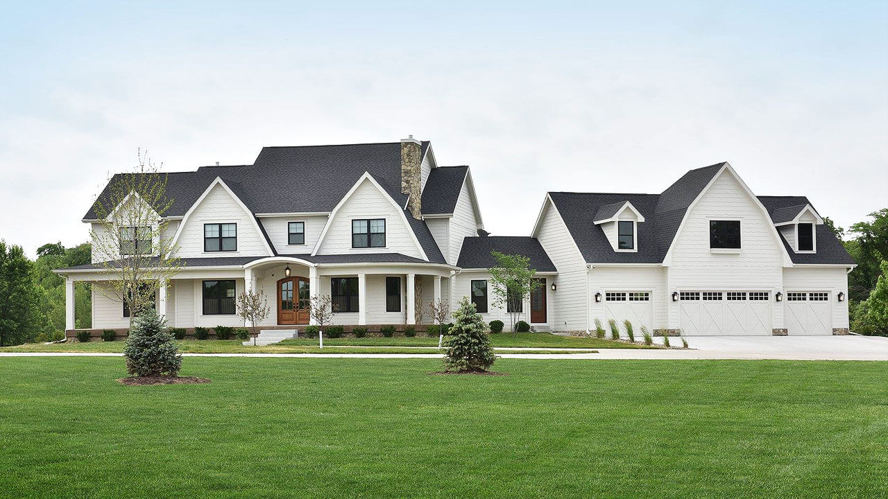 Stunning home built by Neighborhood Builders in Des Moines, Iowa