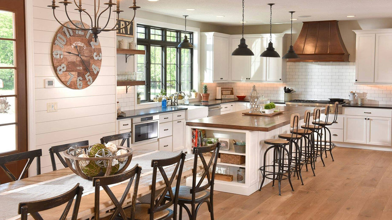Beautiful kitchen in home built by Neighborhood Builders