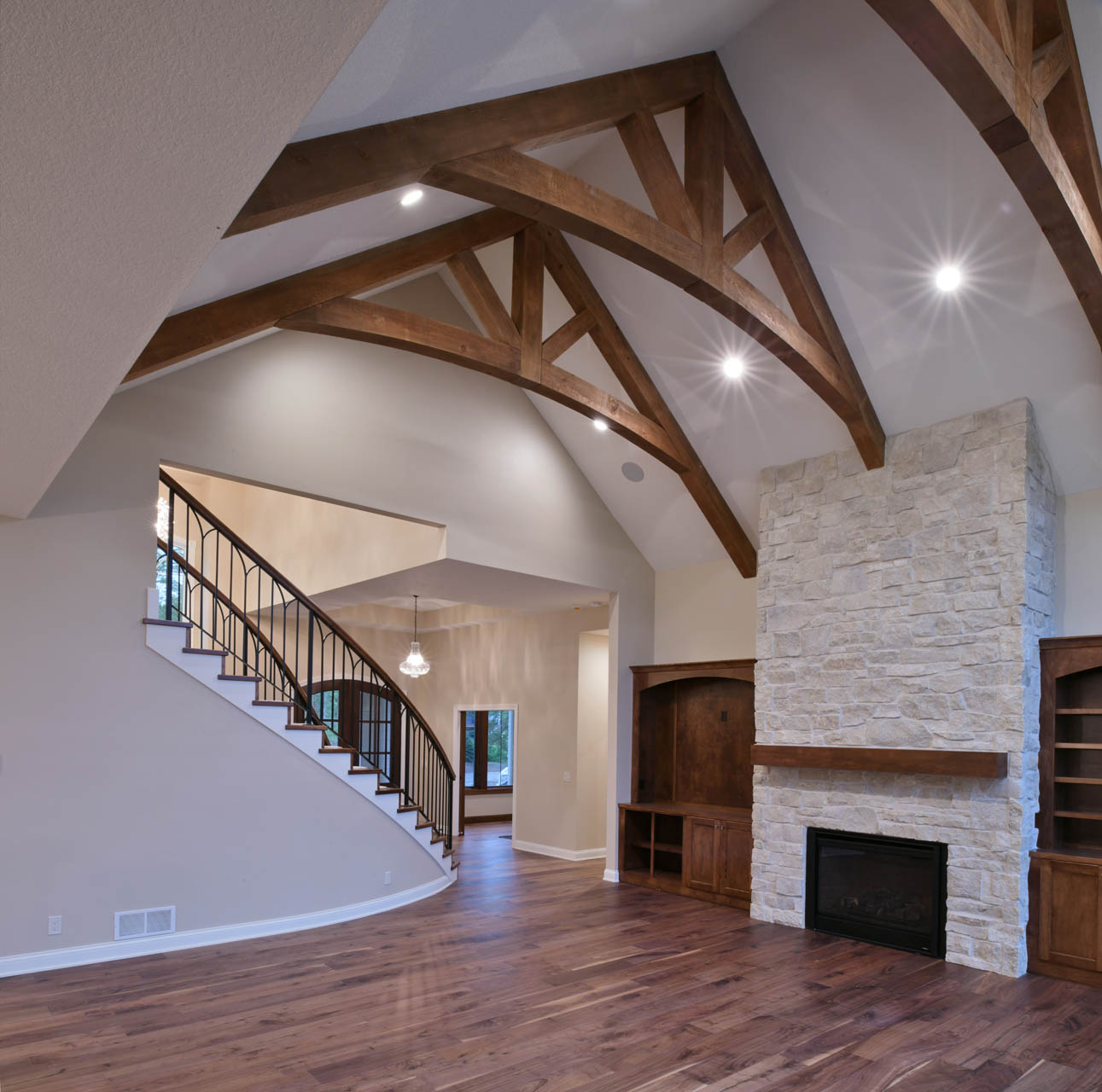 Amazing Ceilings and Fireplaces