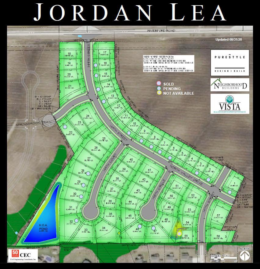 Jordan Lea lots for sale in Urbandale, Iowa
